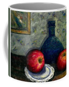 Apples And Bottles Coffee Mug