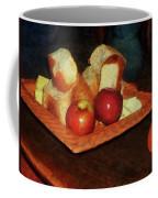 Apples And Bread Coffee Mug