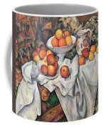 Apples And Oranges Coffee Mug by Paul Cezanne