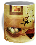 Apples And Pears In A Hallway Coffee Mug