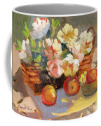 Apples And Peonies Coffee Mug