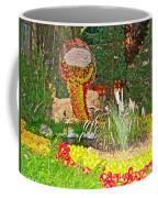 Apples In Autumn In Bellagio Conservatory In Las Vegas- Nevada Coffee Mug