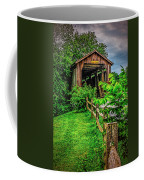 Approach To Hunseckers Mill Bridge Coffee Mug