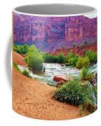 Approaching Navajo Falls Coffee Mug