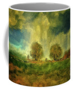 Approaching Storm At Antietam Coffee Mug by Lois Bryan
