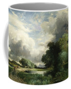 Approaching Storm Clouds Coffee Mug by Thomas Moran