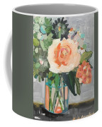 Apricot Rose Coffee Mug