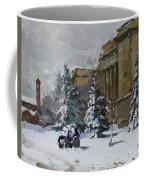 April Snow By The Nacc Coffee Mug