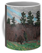 April White Pine Forest Coffee Mug