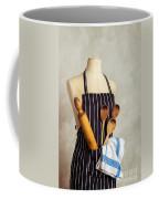 Apron With Utensils Coffee Mug