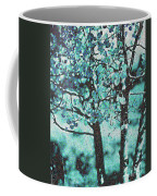 Aqua Aspens Coffee Mug