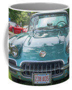 Aqua Blue 1959 Corvette  Coffee Mug