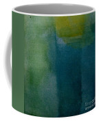 Aqua Blue - Abstract Coffee Mug