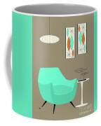 Aqua Chair Coffee Mug