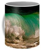 Aqua Green Wave Coffee Mug
