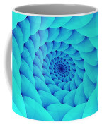 Aqua Pillow Vortex Coffee Mug