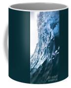 Aqua Ramp - Triptych Part 3 Of 3. Coffee Mug