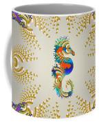 Aquarium Glow Greys Coffee Mug