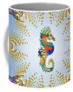 Aquarium Glow Mid Blue Coffee Mug