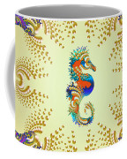 Aquarium Glow Mustard Coffee Mug