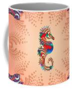 Aquarium Rising Pinks Coffee Mug
