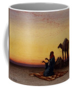 Arab At Prayer Coffee Mug