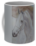 Arab Stallion In The Desert Coffee Mug