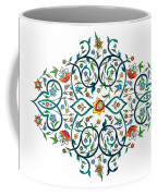 Arabic Floral Ornament Coffee Mug