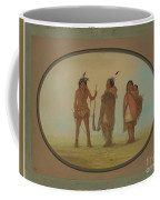 Arapaho Chief, His Wife, And A Warrior Coffee Mug