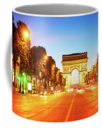 Arc De Triomphe, Paris, France Coffee Mug