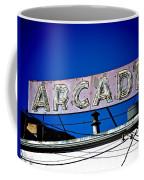 Arcade Vintage Sign Coffee Mug