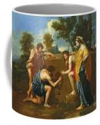 Arcadian Shepherds Coffee Mug by Nicolas Poussin