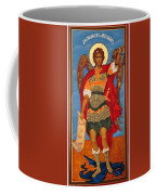Arch Angel - St Michael Coffee Mug by Bill Cannon