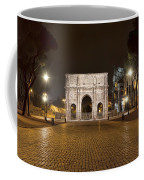 Arch At Night Coffee Mug