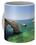 Arch Of Albandeira Beach Coffee Mug
