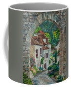 Arch Of Saint-cirq-lapopie Coffee Mug