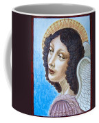 Archangel Contemplating The Holy Child Coffee Mug