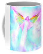 Archangel Gabriel In Flight Coffee Mug