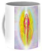 Archangel Michael In Quiet Contemplation  Coffee Mug