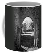 Arched Door At Ballybeg Priory In Buttevant Ireland Coffee Mug