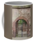 Arched Gate At Heidelberg Castle Coffee Mug