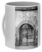 Arched Gate B W Coffee Mug