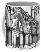 Arches Front Of The Royal Courts Of Justice London Coffee Mug