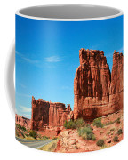 Arches National Park From A Utah Highway Coffee Mug