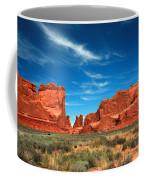 Arches National Park, Park Avenue Coffee Mug