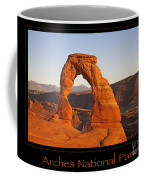 Arches National Park Poster Coffee Mug