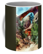 Arches National Park Trail Coffee Mug