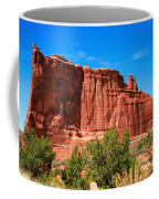 Arches National Park, Utah Usa - Tower Of Babel, Courthouse Tower Coffee Mug