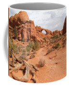 Arches With Wood Coffee Mug