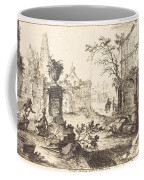 Architectural Fantasy With Roman Ruins Coffee Mug